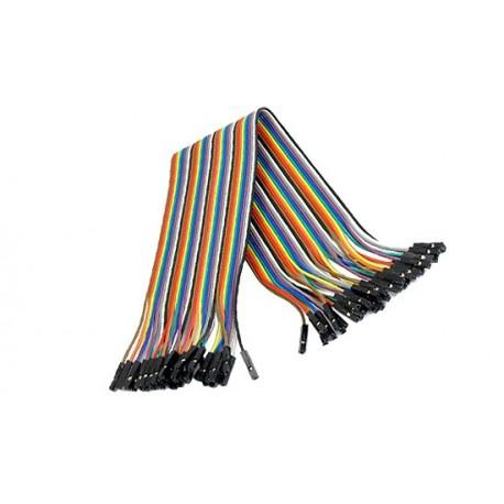 Jeu de 40 straps flexibles F-F (40 cm)