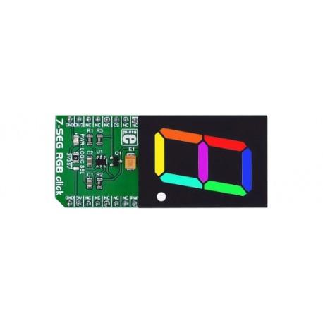 Module 7-SEG RGB click board