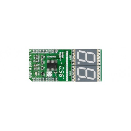 Module UT-L 7-SEG R click board