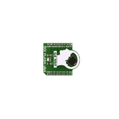 Module SQI FLASH click MIKROE-2828