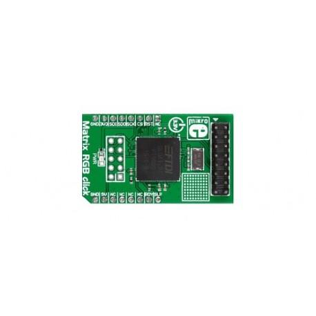 """MIKROE-2239 : Module """"Matrix RGB click"""""""