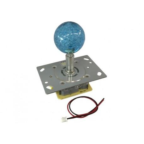 Joystick lumineux bleu pour borne d'arcade