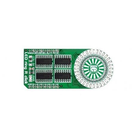 """MIKROE-2153 Module """"LED ring R click""""pour arduino, Raspberry et autre"""