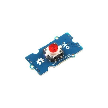 Module Grove Bouton-poussoir à Led rouge 111020044 pour arduino