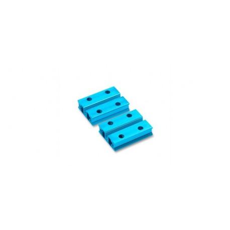 """Profilé makeblock """"Beam0824-032-Blue"""" pour robot et arduino"""