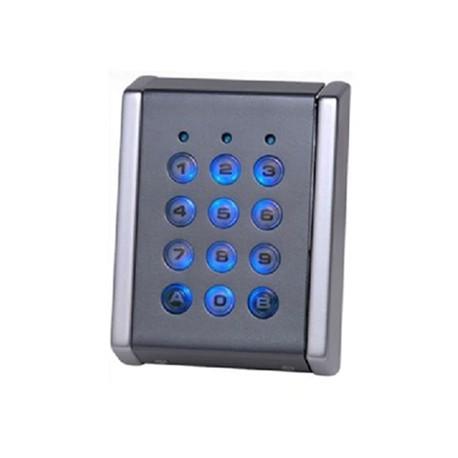 Clavier codé métal autonome 4 relais CLAVC-06