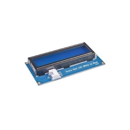 Module Grove Afficheur LCD 2x16 (blanc sur bleu) 104020111 pour Arduino