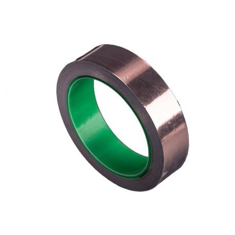 Ruban de cuivre 25 mm (15 m) pour blindage RF