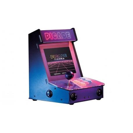 """Mini borne d'arcade rétro PICADE 8"""" pour Raspberry 3"""
