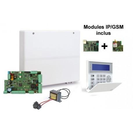 Pack LEX08 avec modules GSM/GPRS et IP