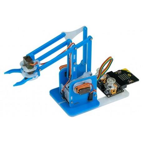 Bras robotique MeArm pour micro:bit pilotable via un joystick