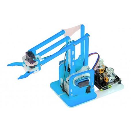 Bras robotique MeArm pour Raspberry Pi pilotable via un joystick
