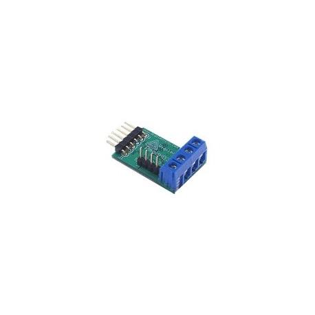 "PMODHB3 : Interface moteur ""cc"" (6 à 12 V / 2 A max) pour arduino"