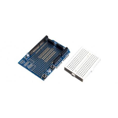 Carte Shield de prototypage + Breadboard pour arduino UNO