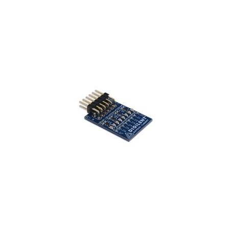 PMOD8LD : Module 8 leds rouges pilotées par transistors pour arduino