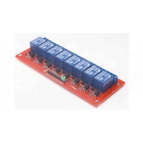 Module 8 relais (Bobine 5V) pour Arduino