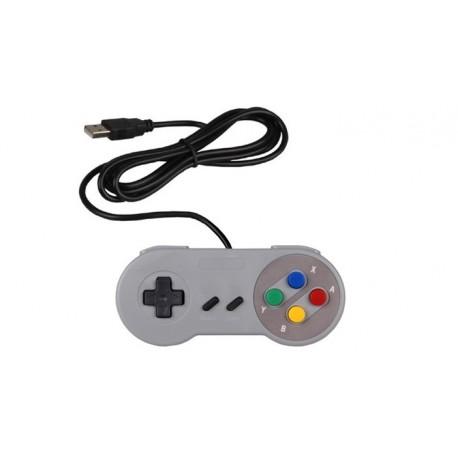 Gamepad rétrogaming USB pour Raspberry Pi ou PC