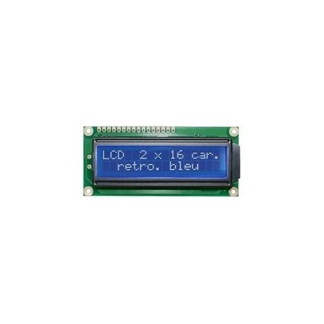 Afficheur LCD 2 x 16 caractères
