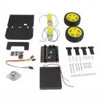 Détail de la base robotique Buggy suiveur de ligne Kitronik 5638 pour micro:bit