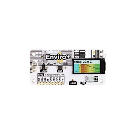 Shield environnemental Enviro+ Pimoroni PIM458