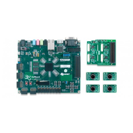 Zedboard Advanced Image Processing Kit - Quad PCAM