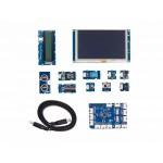 Détail des éléments du pack Grove IoT pour Raspberry Pi 3B+