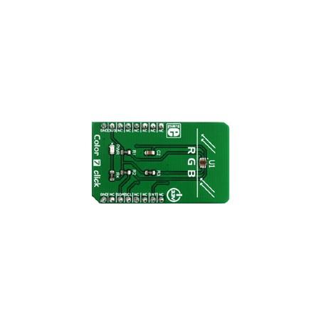 MIKROE-3062 : Color 7 click - Capteur de couleurs Mikroelektronika