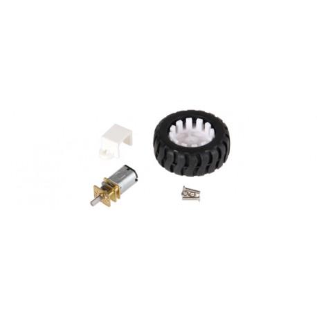 kit roue + motoréducteur + support COM-MOTOR03