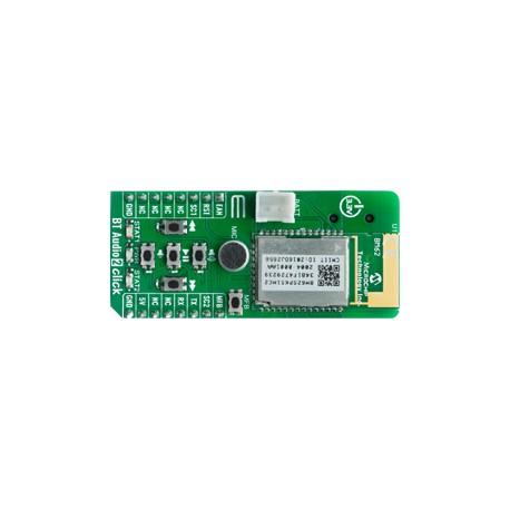 Module BT Audio 2 Click base BM62 communication Bluetooth audio