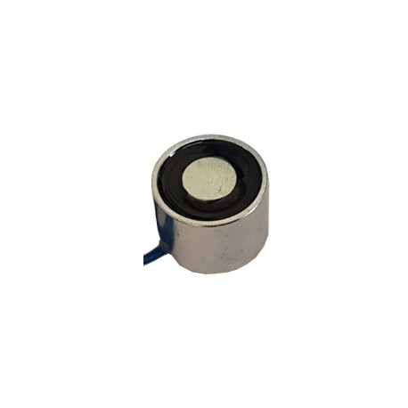 Electromaimant 12V type alimenter pour maintenir (force 5 Kg)