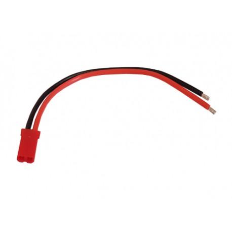 Câble avec connecteur JST RCY 2 contacts femelle