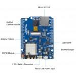 Détails de la platine de développement Arducam IoTai ESP32 CAM
