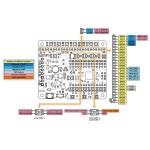 Brochage 2 platine A-Star 32U4 Robot Controller LV
