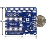 Dimensions platine A-Star 32U4 Robot Controller LV