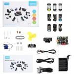 Contenu complet du Kit Inventor Electronic 94004