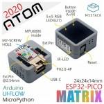 Détail du module IoT ATOM Matrix ESP32