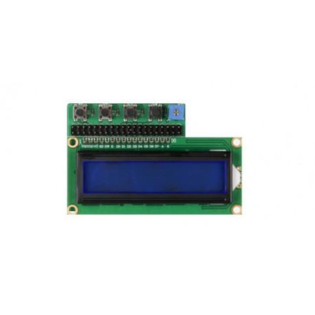 RB-LCD-16X2 Afficheur LCD JOY-IT 2 x 16 + boutons pour Raspberry Pi