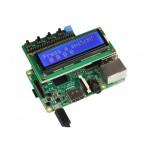 Afficheur LCD 2 x 16 Joy-IT RB-LCD-16X2 monté sur une Raspberry Pi