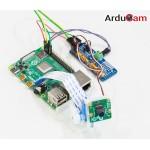 Exemple d'utilisation d'une caméra avec le support ArduCam Pan Tilt et une Raspberry Pi