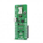 Vue de côté du module Bluetooth BLE 5 Click MIKROE-4120