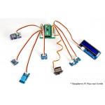 Exemple de raccordement des capteurs du Starter-kit Grove pour Raspberry Pi Pico