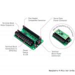 Détail des connecteurs de la platine driver moteur Kitronik 5331 pour Raspberry Pi Pico