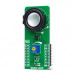Vue de côté du module Speaker click MIKROE-4662