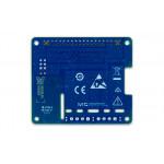 Vue de dessous de platine DIgilent® mesure thermocouple DAQ HAT MCC134 pour Raspberry PI