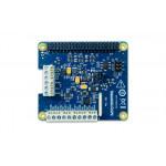 Vue de dessus de platine Digilent® DAQ HAT MCC152 pour Raspberry PI