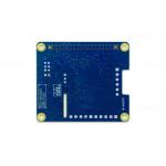 Vue de dessous de platine Digilent® DAQ HAT MCC152 pour Raspberry PI