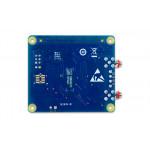 Vue de dessous de platine Digilent® DAQ HAT MCC172 mesure IEPE pour Raspberry PI