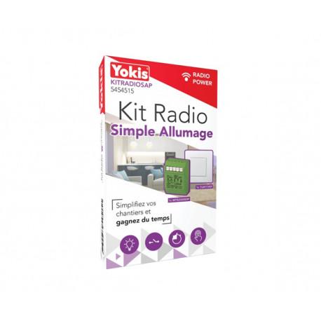 Kit radio simple allumage Yokis® KITRADIOSAP