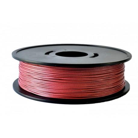 PLA 1,75 mm rouge métallisé (1Kg)