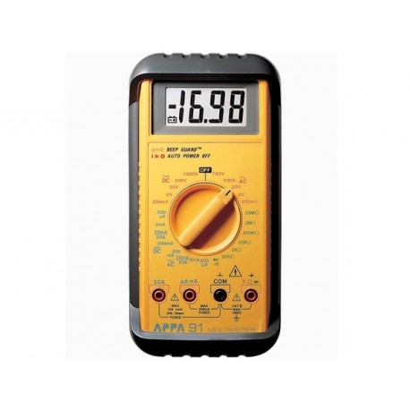 Multimètre gamme industrielle APPA® 91